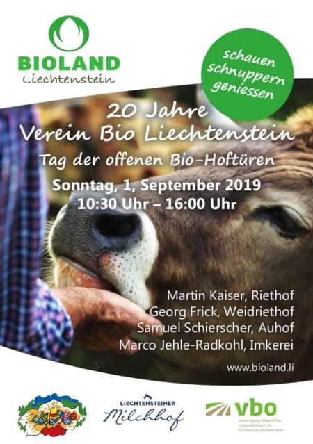 Tag der offenen Bio-Hoftüren am 1. September