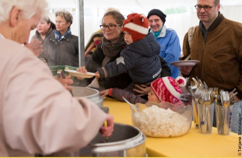 Die Gartenkooperative am Welternährungstag 2017 in Vaduz