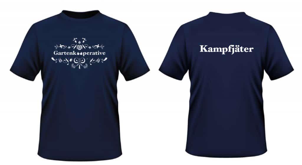 Die neuen T-Shirts der Gartenkooperative